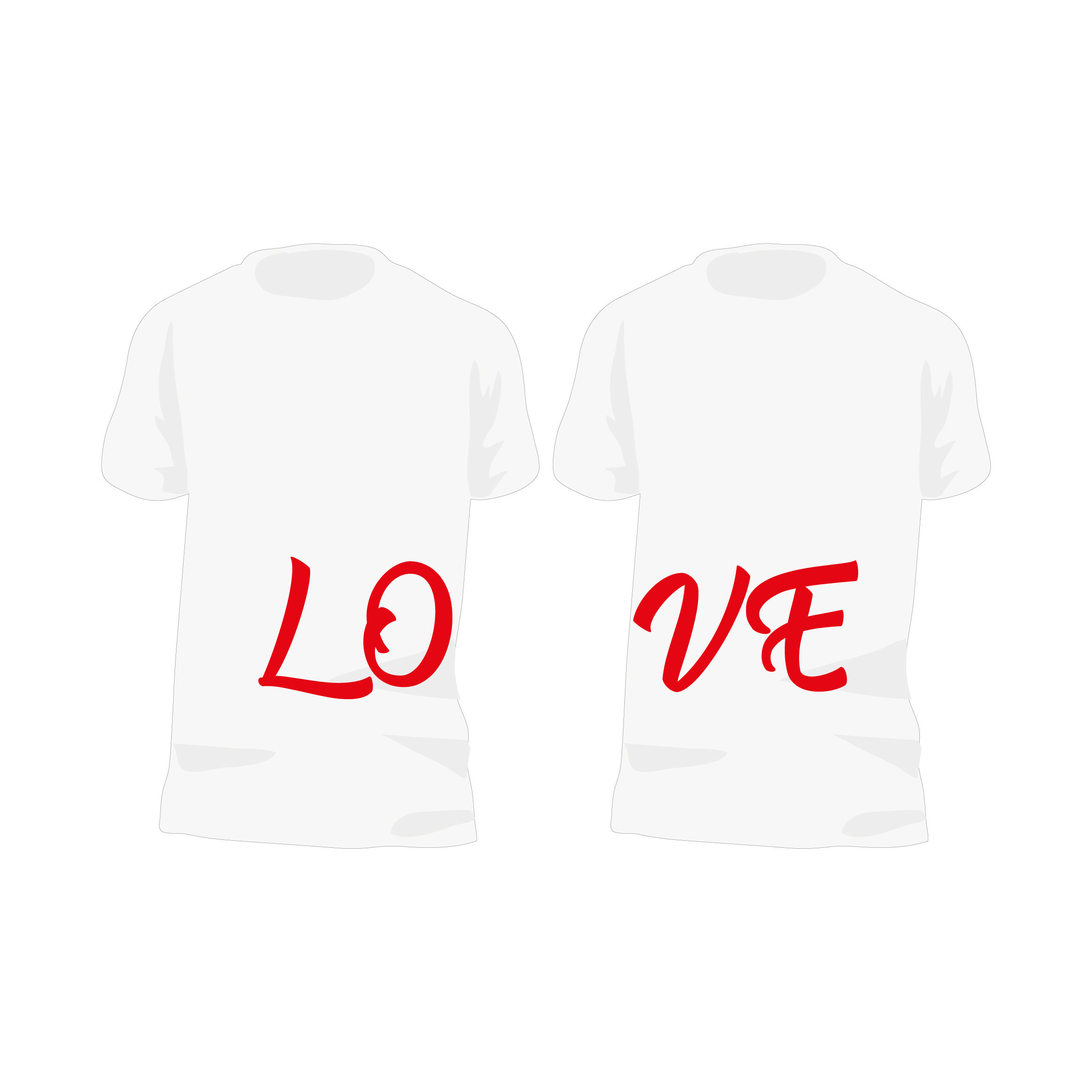 LO-VE shirts