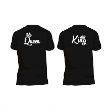 QUEEN  en KING shirt