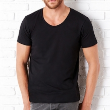 Men's Wide Neck (incl. eigen opdruk)
